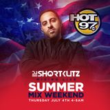 DJ SHORTKUTZ LIVE ON HOT 97 - 4TH OF JULY