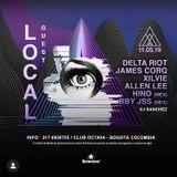 Delta Riot live at Club Octava - Bogota