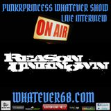 PunkrPrincess Whatever Show live interview with Reason Unknown 6/12/18