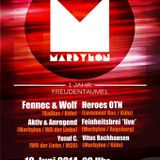 Yusuf C. - MARBYLON pres. 1 Jahr Freudentaumel / Nachtsalon Marburg / Kabine Set / 19.06.14 Part 1