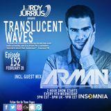 Jordy Jurrius - Translucent Waves Ep 152 (Arman Dinarvand Guest Mix)