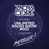 Unlimited Radio Show #023 [Backdoor Guestmix]