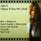 2018.07.20. Gab-E - B Day Mix 2018 (2018)