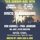 A Day @ the Wise Owl: Suave Sundays & We Love We Dance We Live presents 19 August 2018