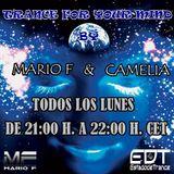 Camelia & Mario F - Trance For Your Mind 028 @ estadodetrance.es (17.07.2017)