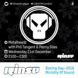 RinseFM December 21st 2016 Phil Tangent & Penny Giles