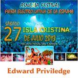 Edward Priviledge - Asnexia Festival (27-07-2013)