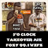 The Five O'Clock Takeover Mix 10-17-14