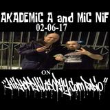 AKADEMIC A and MIC NIF on HIPHOPPHILOSOPHY.COM RADIO 02-06-17