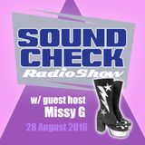 Soundcheck 28th August with Missy G