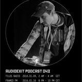 Audioexit Podcast043 - Aleksandar von Zimmer