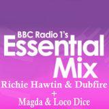 Richie Hawtin & Dubfire + Magda & Loco Dice Essential Mix BBC1 18-07-2009