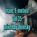 tranc-E-motion vol 35 mixed by domsky