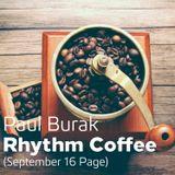 Paul Burak - Rhythm Coffee (Sep 16 Page)