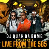 DJ Quan Da Bomb in the mix on live from the 585 WAYO 104.3 FM pt.4