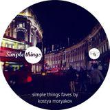Simple Things Faves by Kostya Moryakov