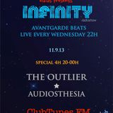 Elaias presents: Infinity radioshow 12.9.13 special 4h. Guests // The Outlier // Audiosthesia //