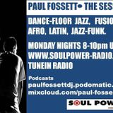 The Session with Paul Fossett 270317  on www.soulpower-radio.com