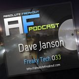 Dave Janson - Absolute Freakout: Freaky Tech 033