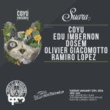 Olivier Giacomotto live @ Suara Showcase (BPM Festival 2016) – 12.01.2016 [FREE DOWNLOAD]