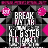 TECHNIMATIC b2b LSB w/ DEEIZM: Live @ innerSoul - 15/11/14