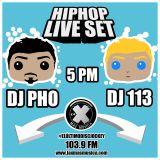 DJ 113 & DJ PHO Live Set para La X más Música - Julio 24