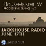 JacksHouse Radioshow Episode 3 on cuebase-fm.de (17-06-2012)