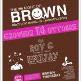 Roy Gilles @ BROWN (City Cafè) 16.10.2008