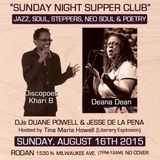Live at Sunday Night Supper Club 8-16-15