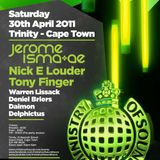 Tony Finger - MOS 20th Anniversary - World Tour - Cape Town -  live mix
