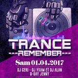 DJ Geri @ (Mandala) Tsunami Remember Trance (01.04.2017)
