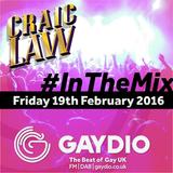 Gaydio #InTheMix - 19th February 2016
