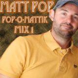 MATT POP - pop-O-mattik MIX ONE - Various Artists