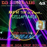 DJ SINCLAIR H43 : RAY OF SUN on planet PSYCHEDELIA....dark morning psytrance