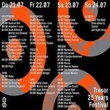 J.C. @ Tresor 25 Years Festival - Tresor Berlin - 22.07.2016