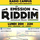 Emission RIDDIM 23 octobre 2017