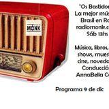 Os Bastidores Música del Brasil e mais en Radio desde Argentina - 9 dic 17