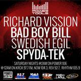 Powertools Mixshow - Episode 7-2-16 Ft: Bad Boy Bill, Swedish Egil, & Spyda-Tek