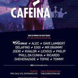 DJ TOMMY @ CAFEINA ROMA & ZAKI BDAY @ LA ROCCA 06.02.2016
