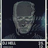 DJ Hell @ Salon Erika, Traunstein - 25.12.2018