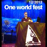 Dj Martu - One world fest