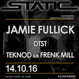 Static ( 14TH of October 2016 ) LIVE recorded ( 5HRS. DJ mix ) at the Azijnfabriek, Roermond ( NL ).