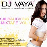 Salsalicious, The Mixtape vol. 1 by DJ Vaya
