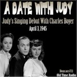 A Date With Judy - Judy's Singing Debut With Charles Boyer (04-03-45)