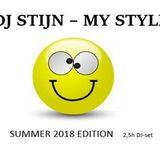 DJ STIJN my style summer 2018 edition