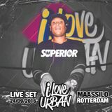 I Love Urban (live set) Maassilo Rotterdam  24/09/2016