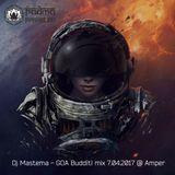 Dj Mastema–GOA Buddit! mix - 07.04.2017 @ Amper