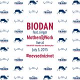 Biodan & singer Mother@Work live at 50th KVIFF - Finlandia Less Ordinary Bar (July 5, 2015)