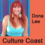 Sarah Combs on Culture Coast with Dona Lee