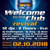 2 Klubbingman live @ Welcome to the club revival 2.10.18